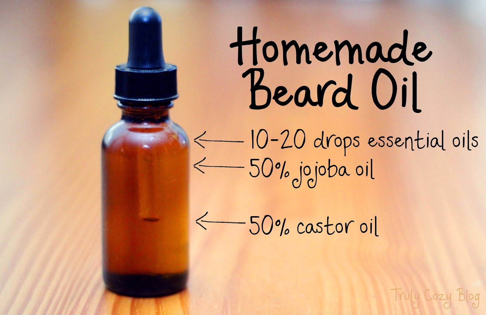 Homemade Beard Oil Recipe - Homemade Ftempo