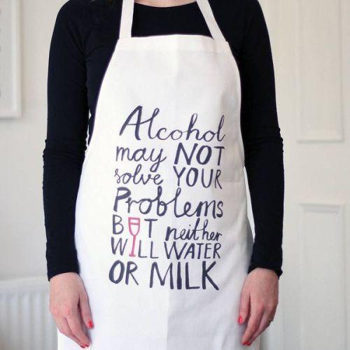 alcohol apron