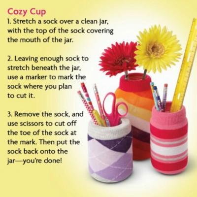 can-cup-cozie-sock-reuse-repurpose