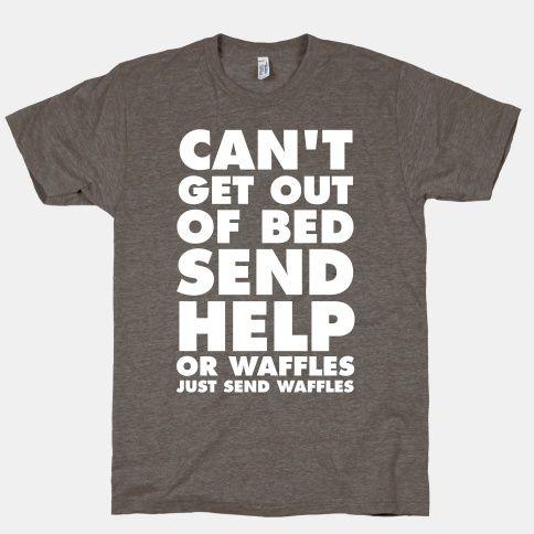 send-waffles-funny-shirt