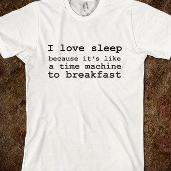 time-machine-breakfast-shirt