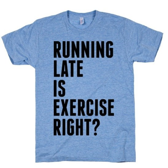 running-late-exercise