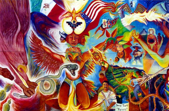 Cinco De Mayo mural