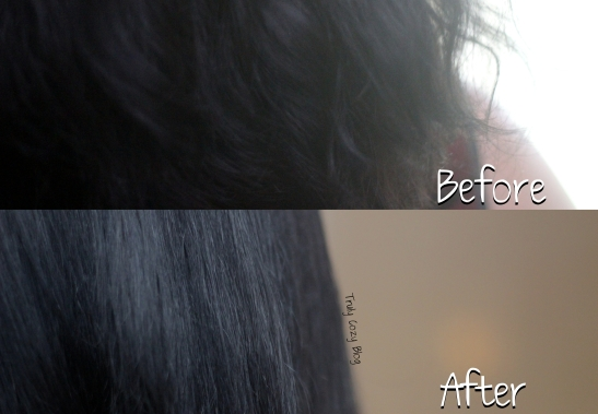 Before-After-Hot-Coconut-Oil-Hair-Treatment-TrulyCozyBlog