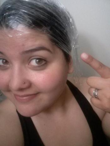 saran-wrap-hair-treatment