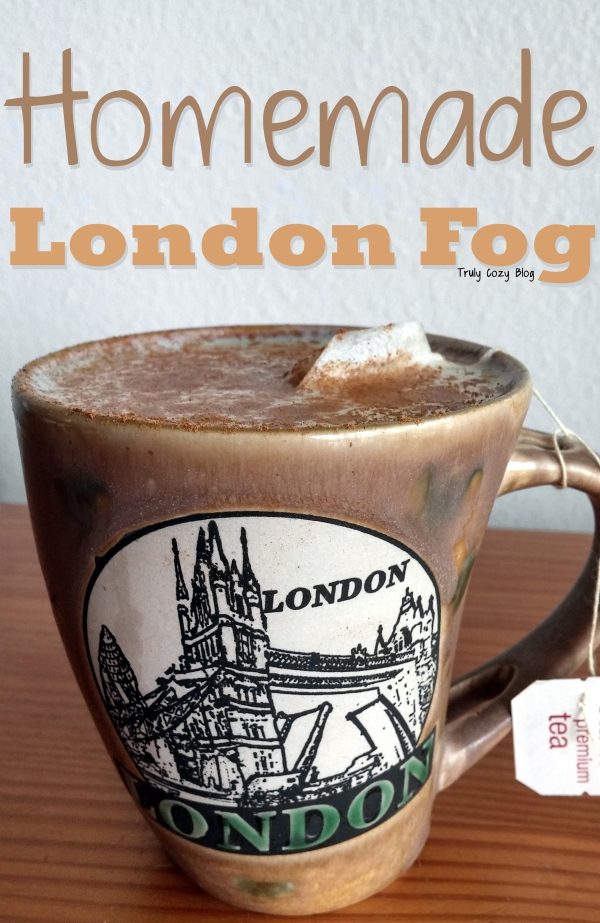 Homemade London Fog | TrulyCozyBlog.com
